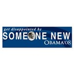 Get Disappointed Bumper Sticker