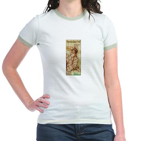 Appalachian Trail Vert. Antique Jr. Ringer T-Shirt