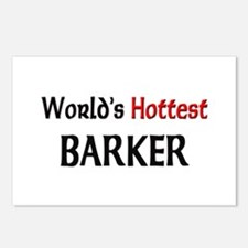 World's Hottest Barker Postcards (Package of 8)