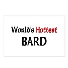 World's Hottest Bard Postcards (Package of 8)