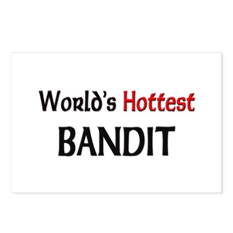 World's Hottest Bandit Postcards (Package of 8)