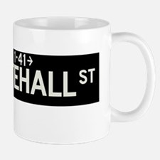 Whitehall Street in NY Mug