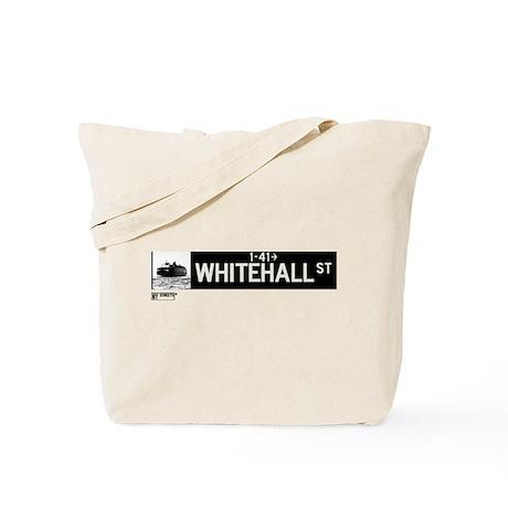 Whitehall Street in NY Tote Bag