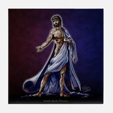 Divine Mercy Tile Coaster