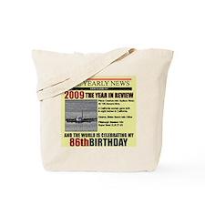 Cute 86 years old Tote Bag