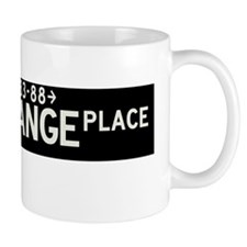 Exchange Place in NY Mug