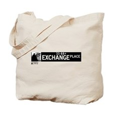Exchange Place in NY Tote Bag