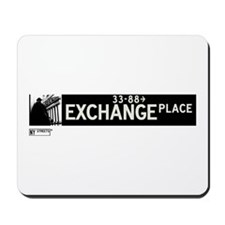 Exchange Place in NY Mousepad