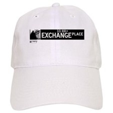 Exchange Place in NY Baseball Cap