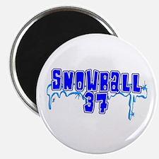 Snowball 37 Magnet