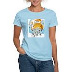 Just Married Car Women's Light T-Shirt