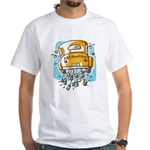 Just Married Car White T-Shirt