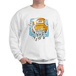 Just Married Car Sweatshirt