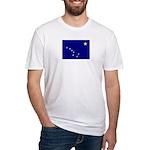 Alaska Flag Fitted T-Shirt