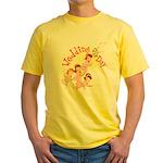 Wedding Bouquet Yellow T-Shirt