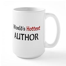 World's Hottest Author Large Mug