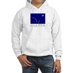Alaska Flag Hooded Sweatshirt