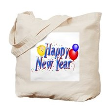 New Years Tote Bag