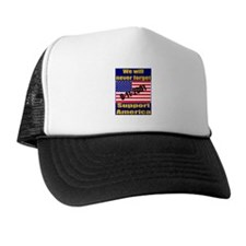9-11-2001 We Will Never Forge Trucker Hat