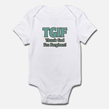 Thank God I'm Forgiven Infant Bodysuit
