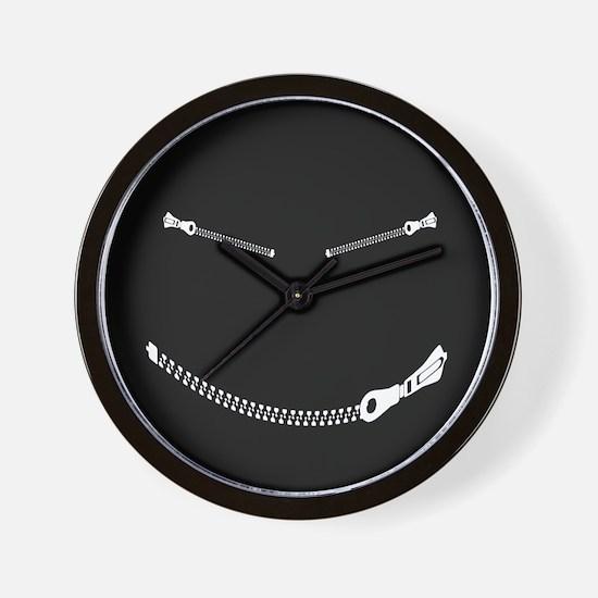 Bondage Smiley Wall Clock