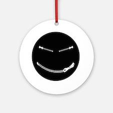Bondage Smiley Ornament (Round)