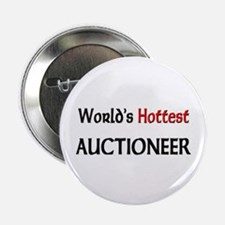 """World's Hottest Auctioneer 2.25"""" Button (10 pack)"""
