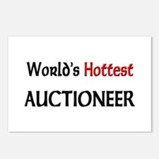 World's Hottest Auctioneer Postcards (Package of 8