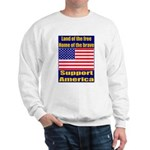 Land of the free home of the Sweatshirt