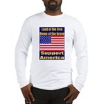 Land of the free home of the Long Sleeve T-Shirt