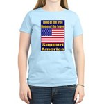 Land of the free home of the Women's Light T-Shirt