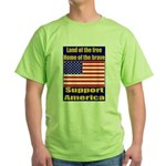 Land of the free home of the Green T-Shirt