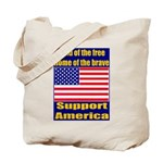 Land of the free home of the Tote Bag