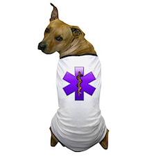 Star of Life(Violet) Dog T-Shirt