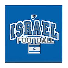 Israel Football/Soccer Tile Coaster