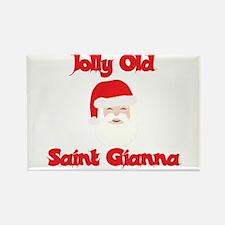 Jolly Old Saint Gianna Rectangle Magnet