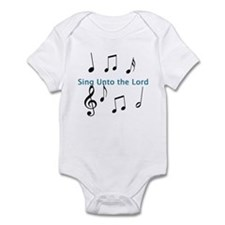 Sing Unto the Lord Onesie