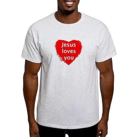 Jesus loves you Light T-Shirt