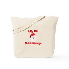 Jolly Old Saint George Tote Bag