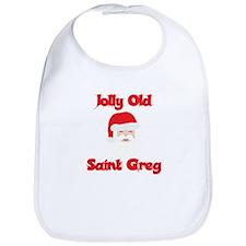 Jolly Old Saint Greg Bib