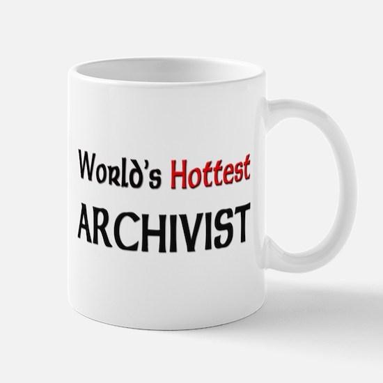 World's Hottest Archivist Mug