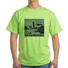 San Quentin Green T-Shirt