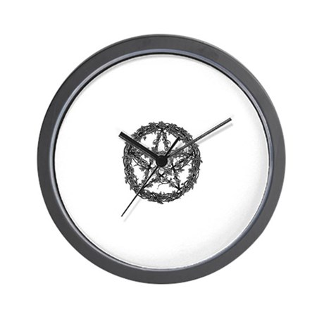 Ivy Pentacle Wall Clock