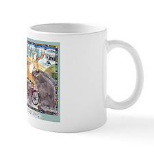 Deer & Bike Crossing Mug