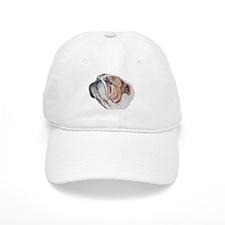 Bulldog Portrait Baseball Cap