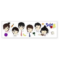 Super Junior H Bumper Bumper Sticker