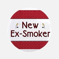"New Ex-Smoker 3.5"" Button"