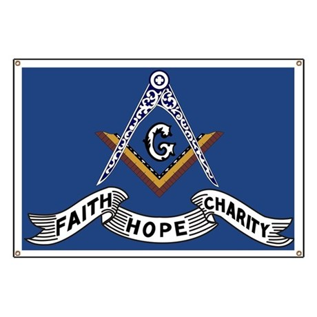 Faith, Hope and Charity Banner