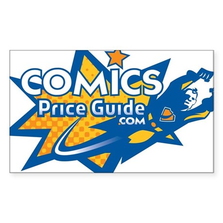 ComicsPriceGuide Rectangle Sticker
