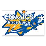 ComicsPriceGuide Rectangle Sticker 50 pk)